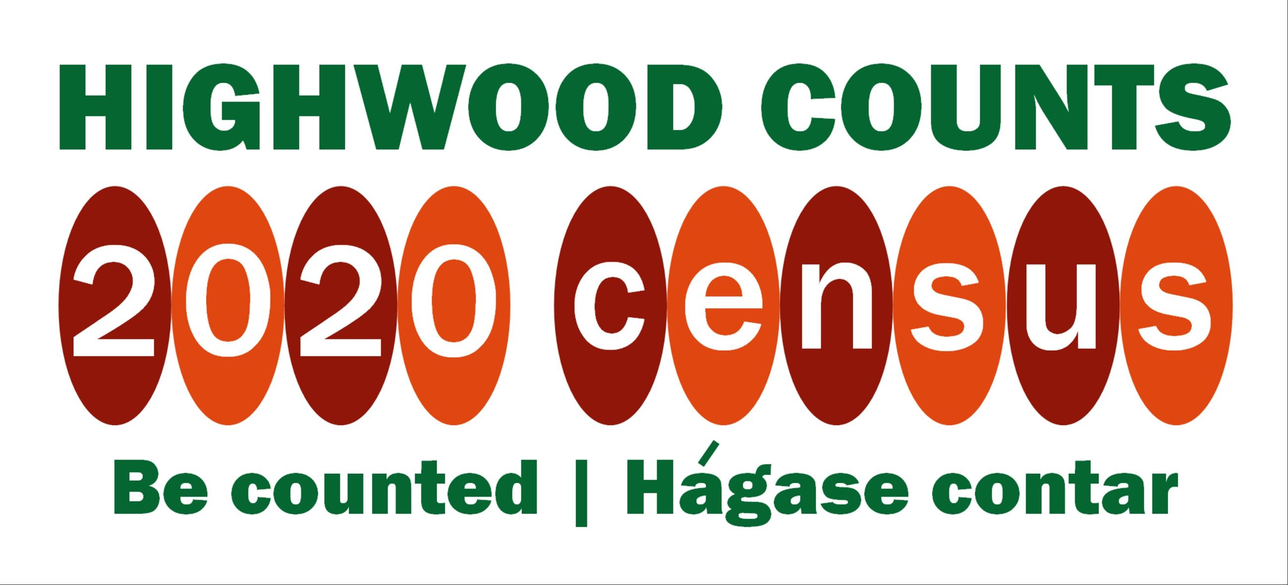 Highwood census 2020 logo