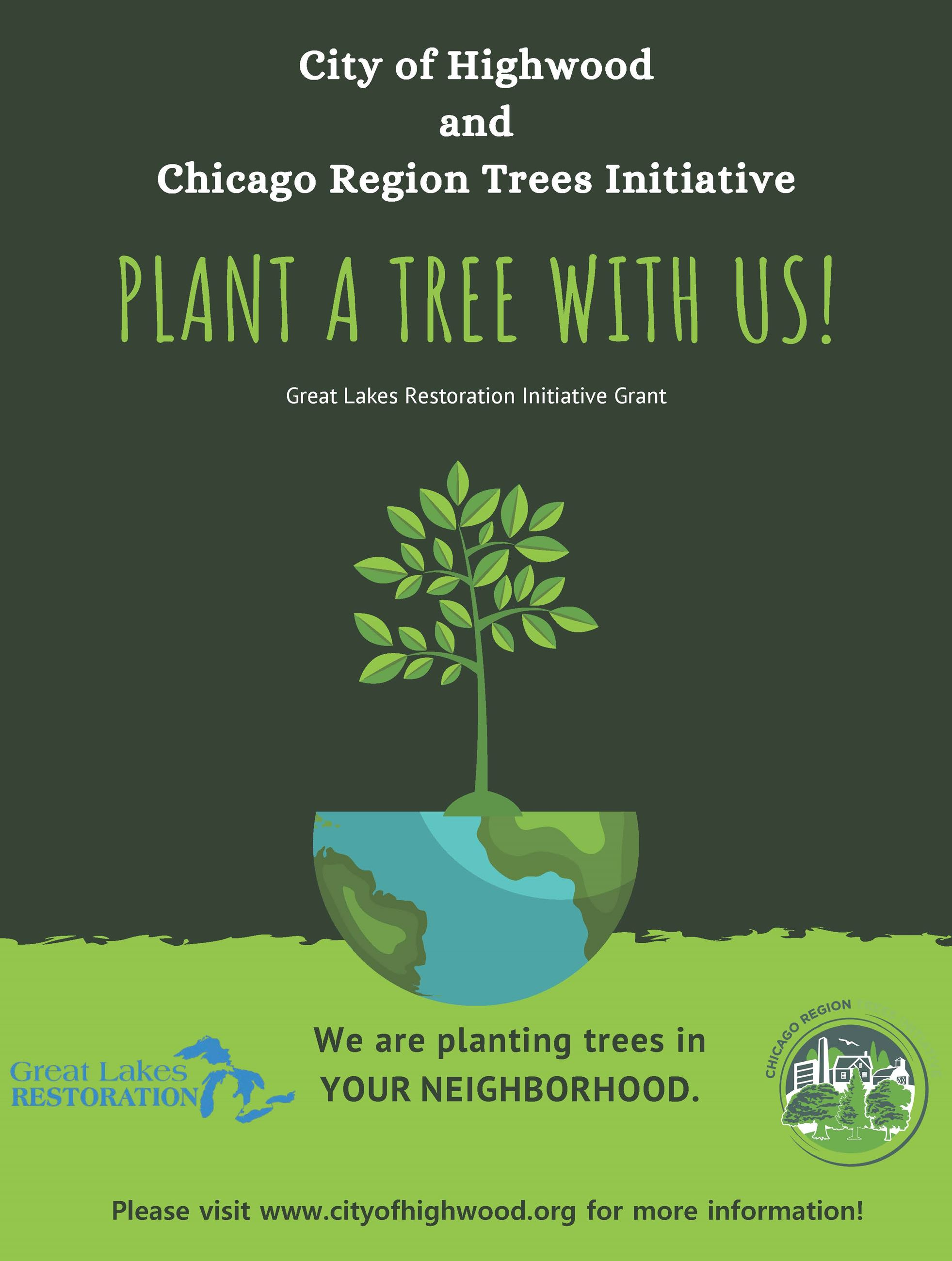 City of Highwood and Chicago Region Trees Initative Poster