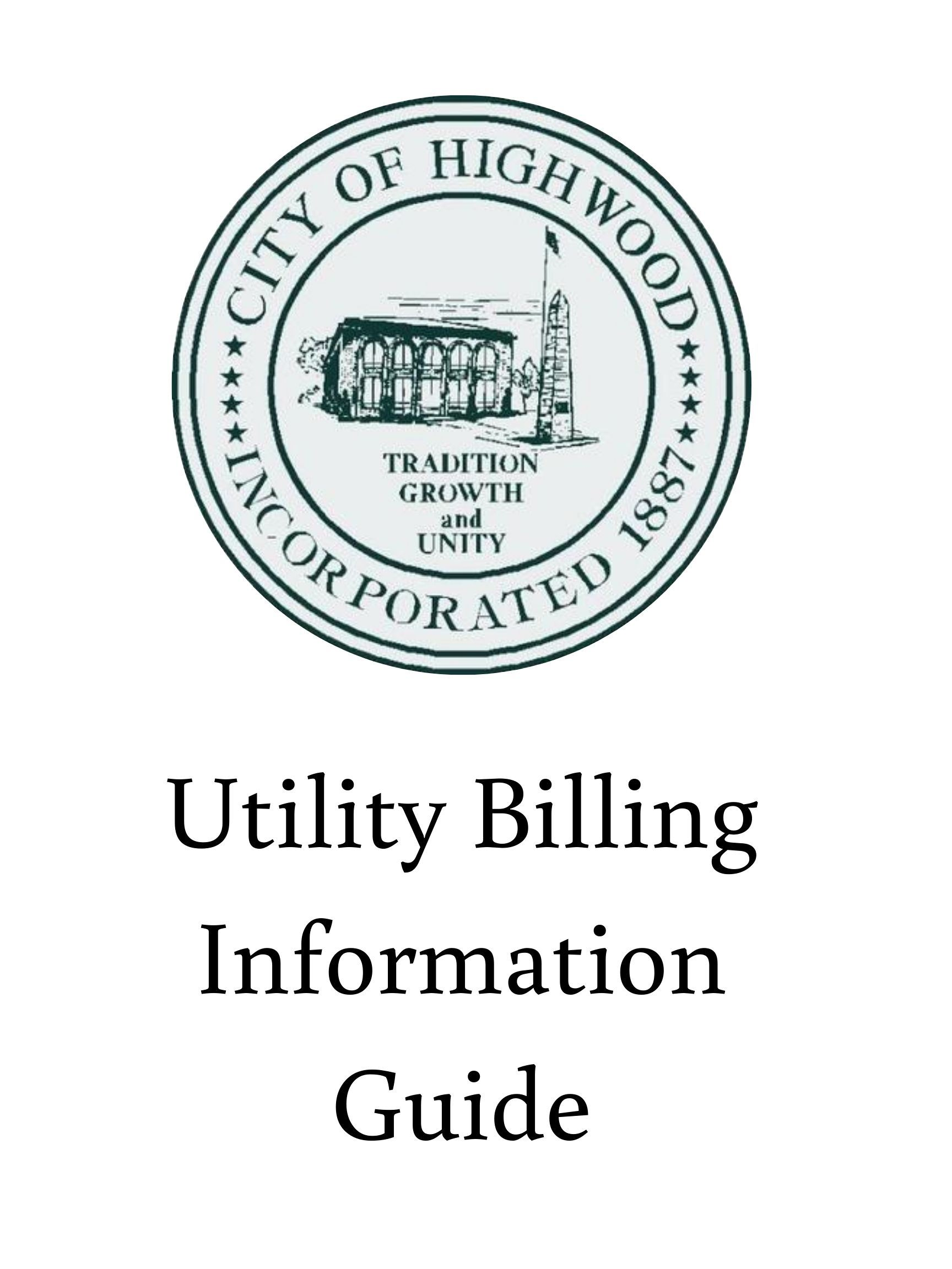 Utility Billing Information Guide